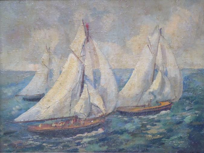1930-11-Trois-voiliers