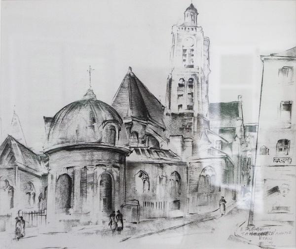1944-6-Puteaux-Vue-dune-église