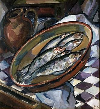 1945-3-Still-life-with-herring