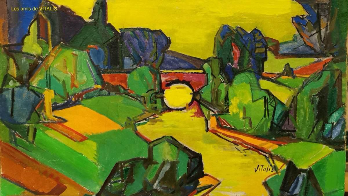 1946-9-Paysage-au-pont
