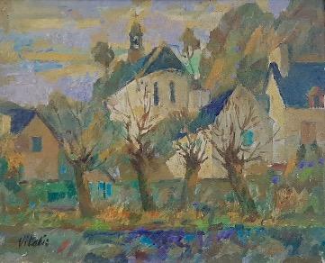 1947-9-Village-breton-chapelle-de-Saint-Efllam