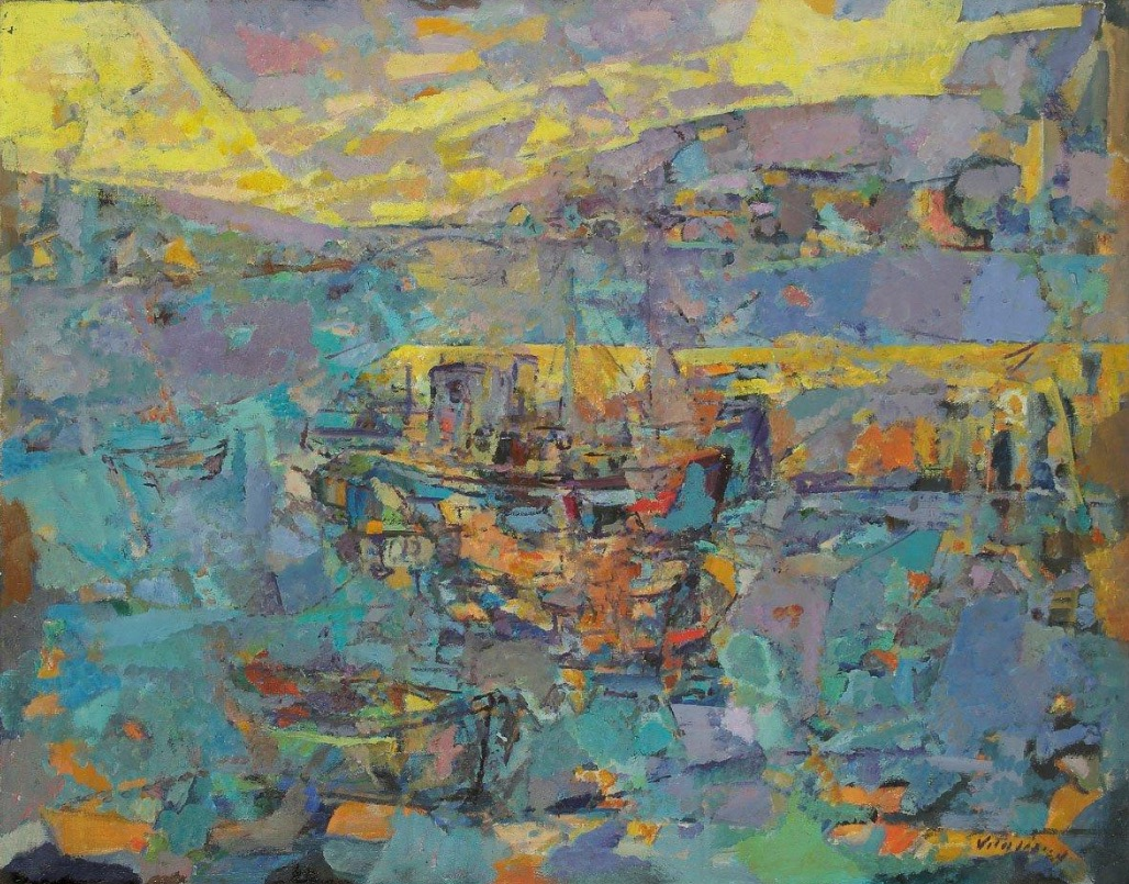 1954-3-Leve-de-soleil-sur-le-port