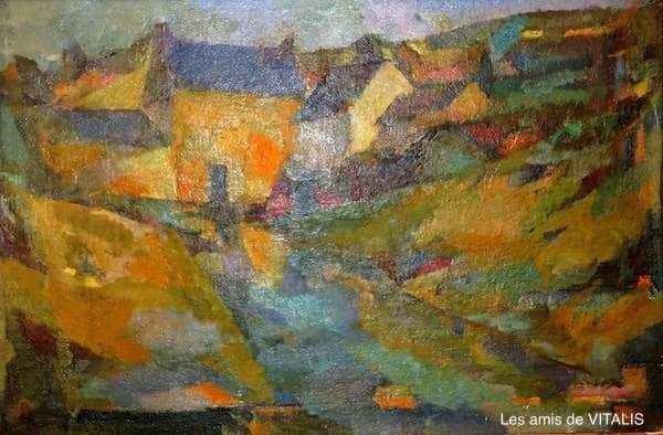 1954-4-Paysage-de-hameau-breton
