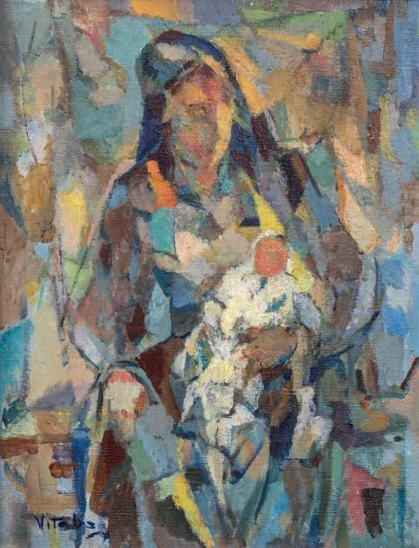 1956-1-Femme-a-l-enfant