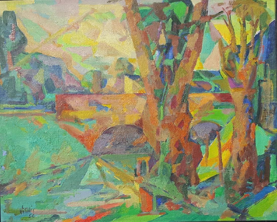 1956-6-Paysage-cubiste-avec-un-pont