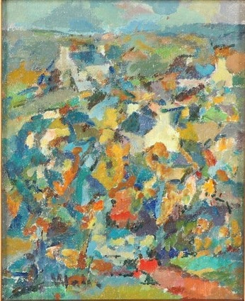 1958-12-Untitled-Abstract-composition