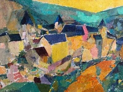 1963-10-Paysage-urbain-cubiste