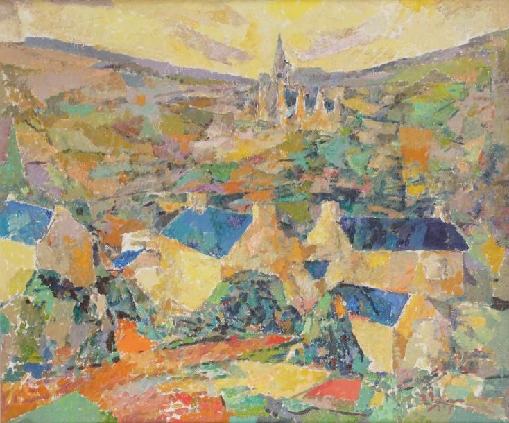 1963-2-Village-breton-autour-de-Plestin-les-Greves