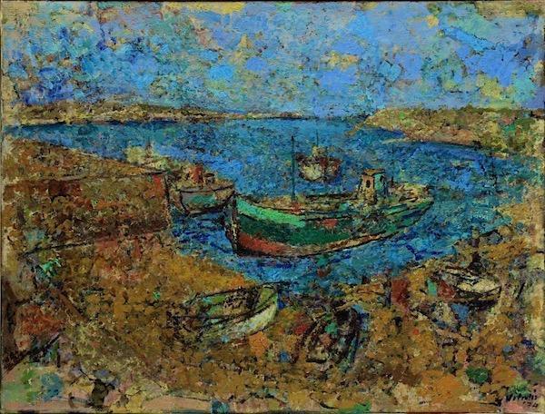 1974-2-Bucht-mit-Booten-in-der-Bretagne-baie-avec-petits-bateaux-en-Bretagne