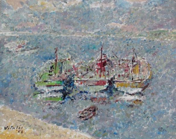 1982-3-Trois-bateaux-dans-la-brume